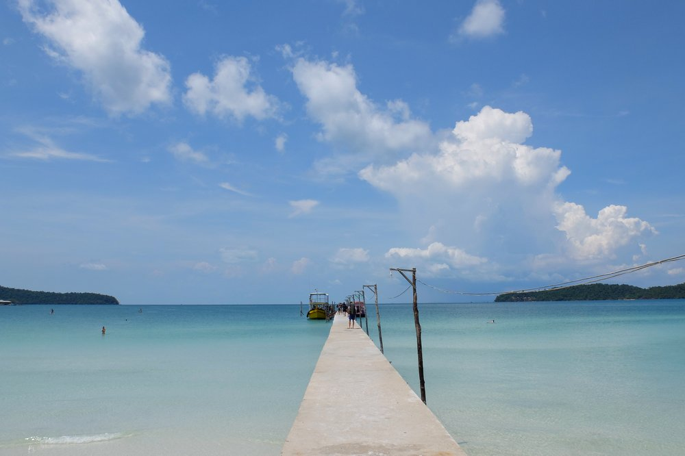 Arriving to Koh Rong Samloem