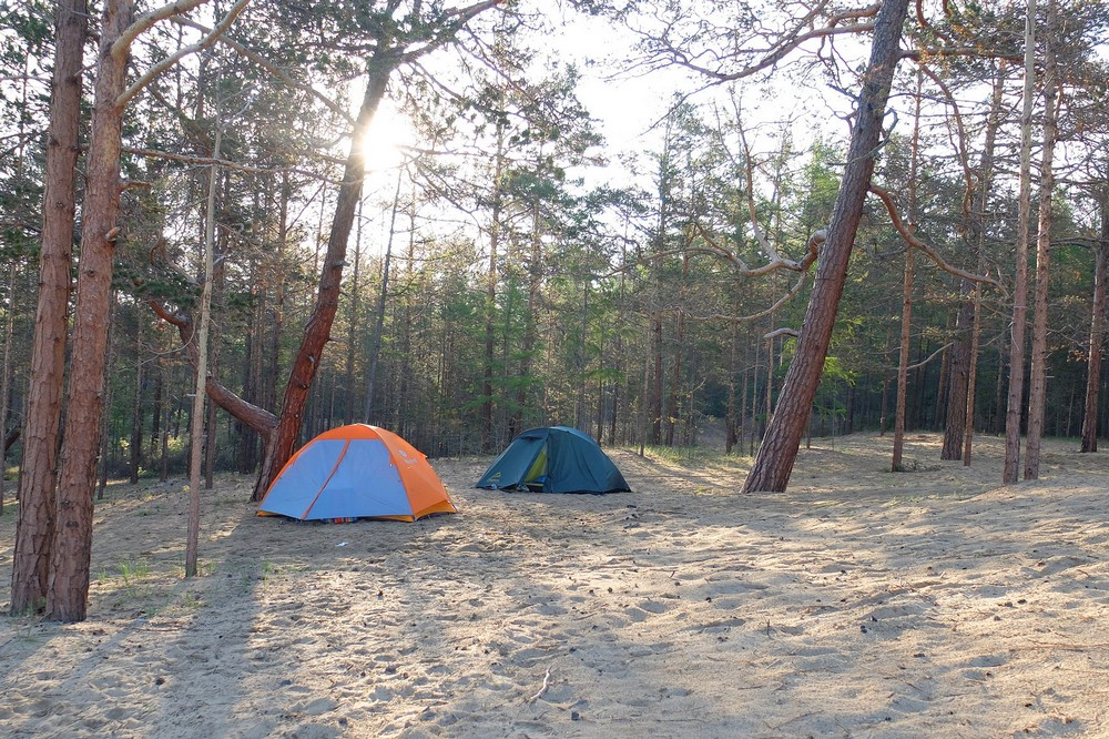 Camping in Siberia - Hiking and Camping in Siberia