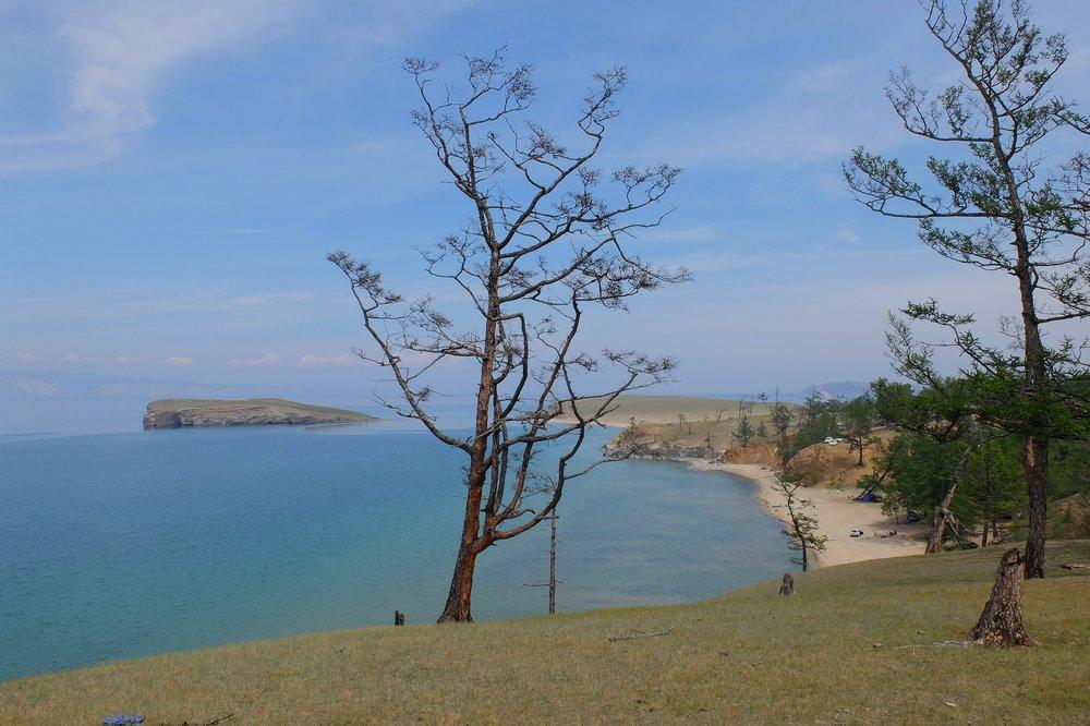 Lake Baikal view