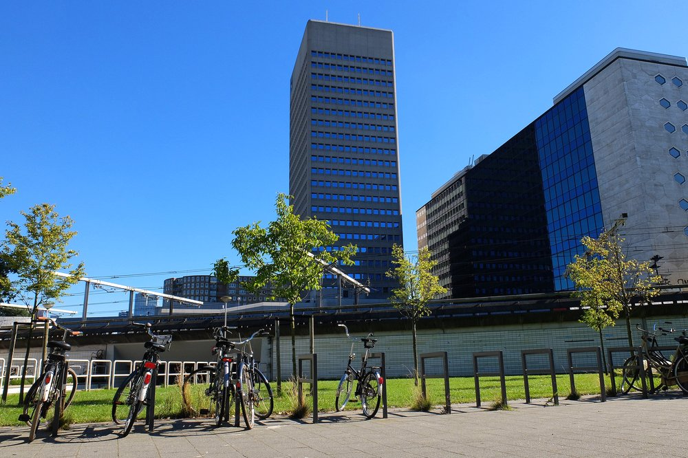 In Rotterdam, the Netherlands - our first stop
