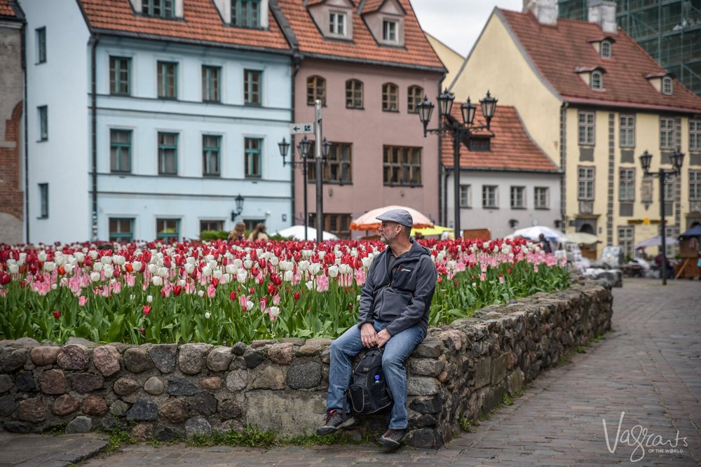 Mark in Riga - Vagrants of the World
