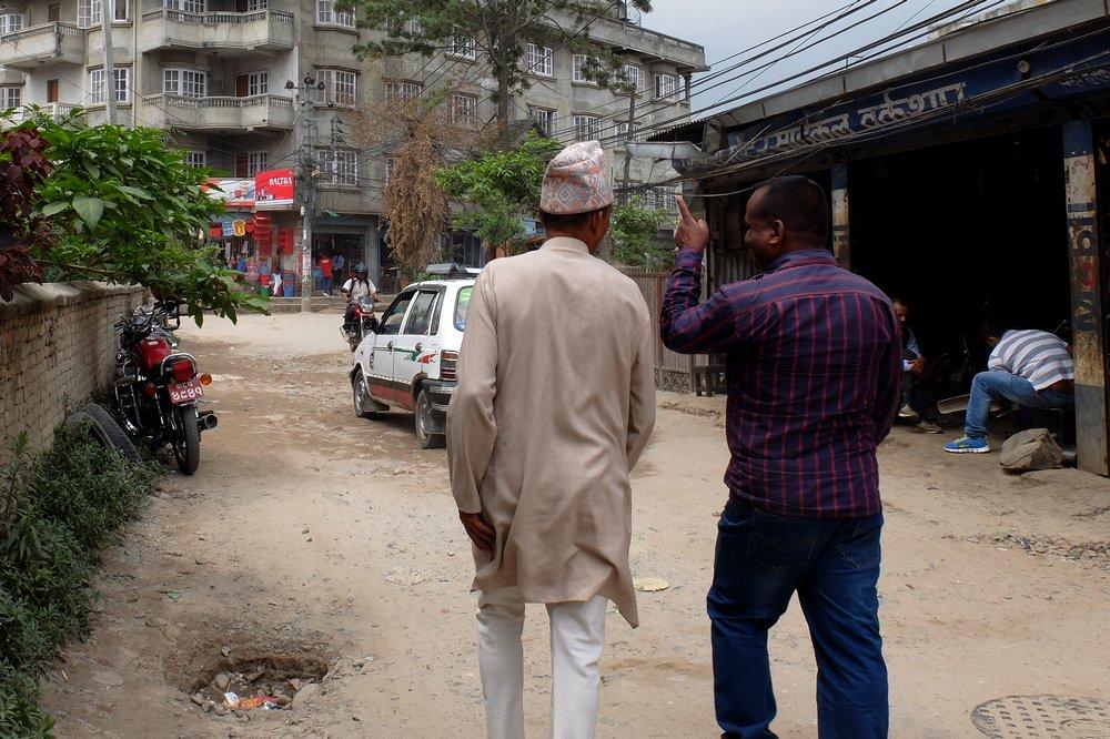 Nepalese man - Kathmandu, Nepal