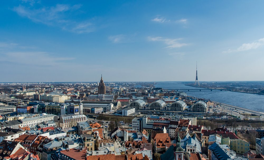 Riga from above - Read This Before Traveling to Riga, Latvia