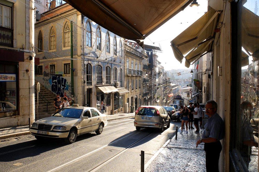 Street of Lisbon, Portugal