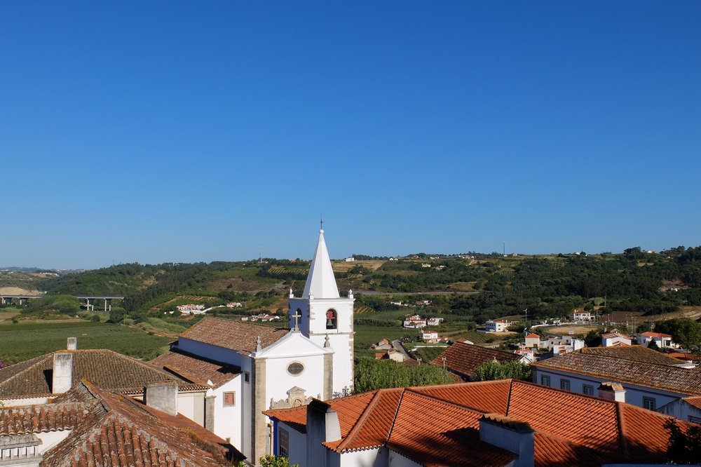 Obidos from above