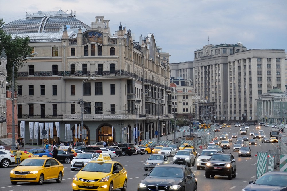 Mokhovaya street in Moscow