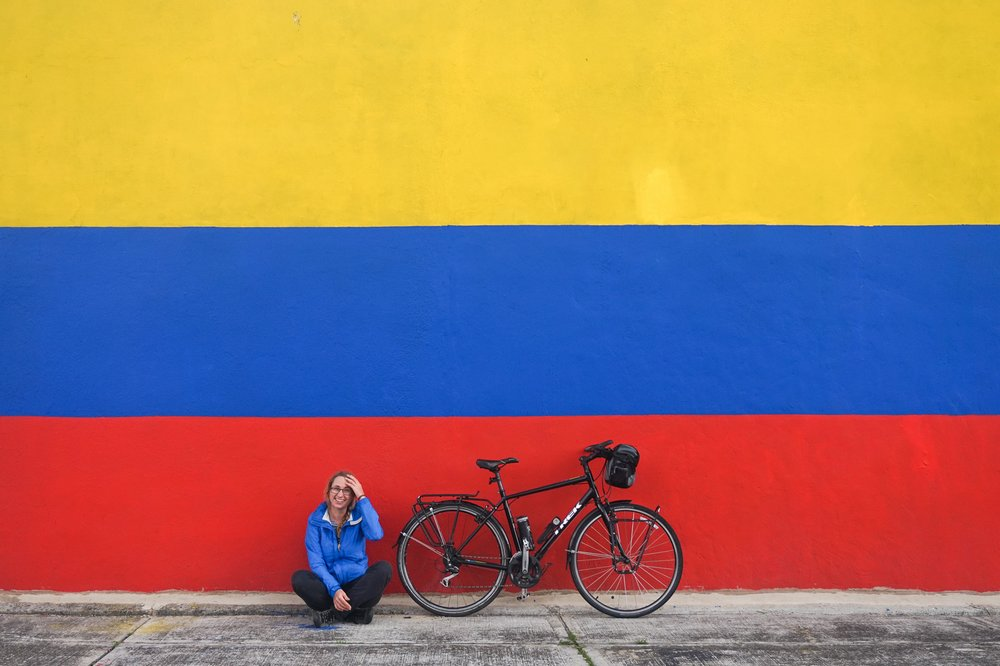 Cycling solo across South America - Marika Latsone