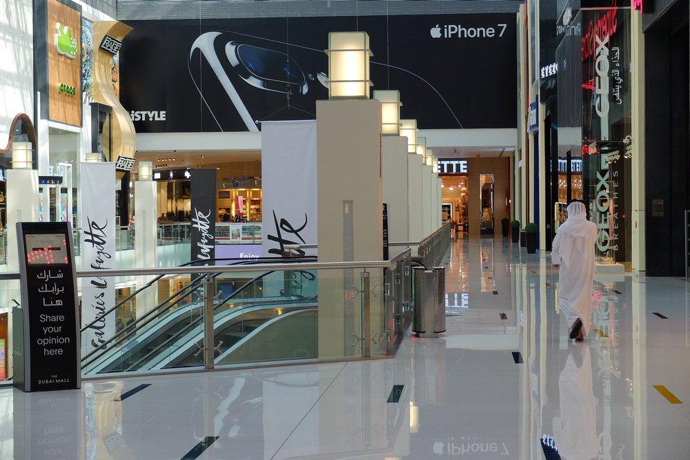Dubai Mall - Stopover in Dubai