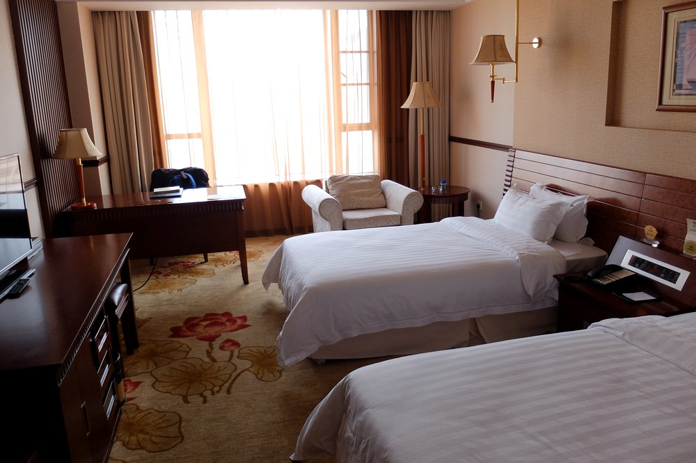 Our free hotel room provided by China Southern Airlines - Layover in Guanzhou