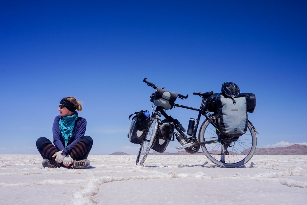Salar de Uyuni - Cycling solo across South America