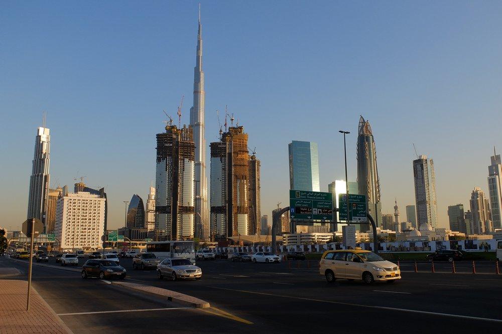 Stopover in Dubai - View of Burj Khalifa