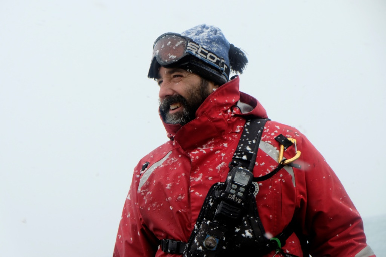 David Riordan - On an Antarctica expedition ship