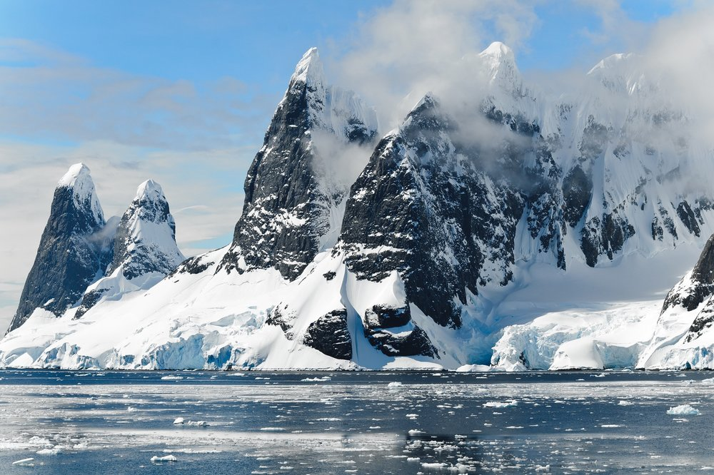 Mountains in Antarctica - Why go to Antarctica
