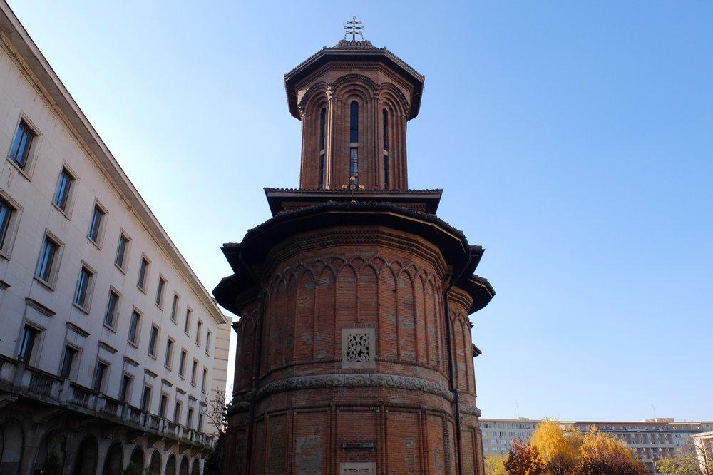 Old church in Bucharest