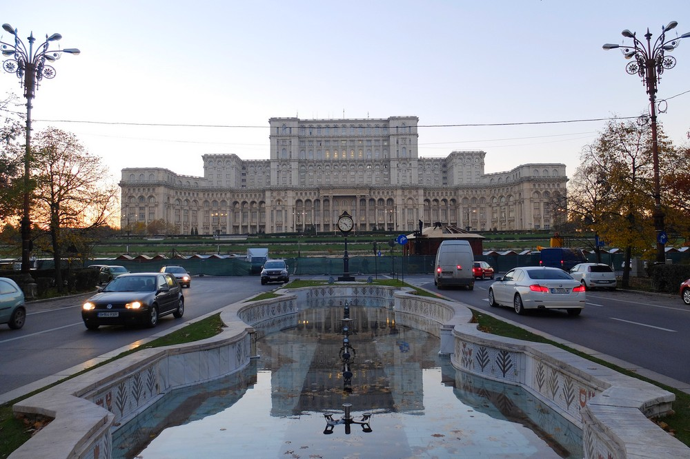 Palace of the Parliament in Bucharest - Traveling to Bucharest