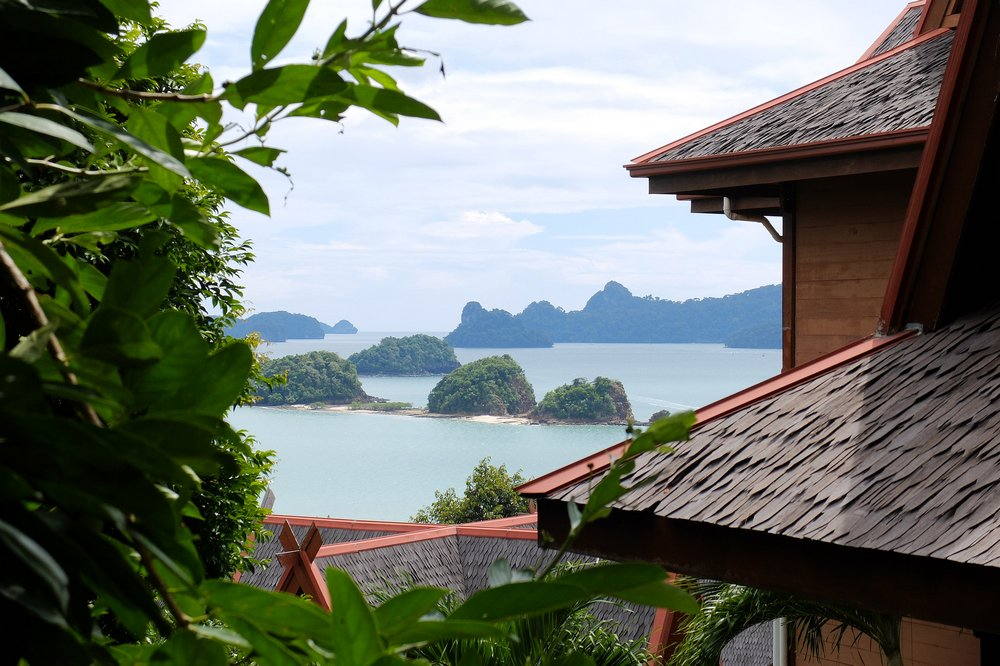 View from our parking in Langkawi - Volunteering in Malaysia
