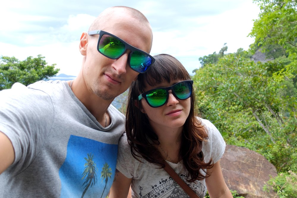 Kaspars and Una in Langkawi - With Sungod sunglasses