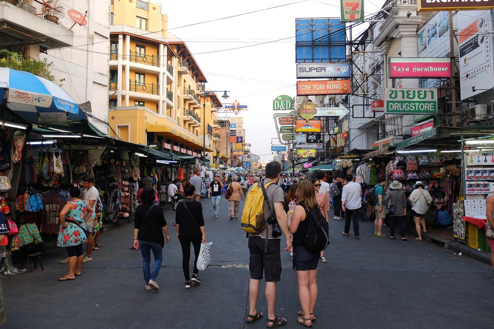 Khao San Road - Getting from Bangkok airport to Khao San Road