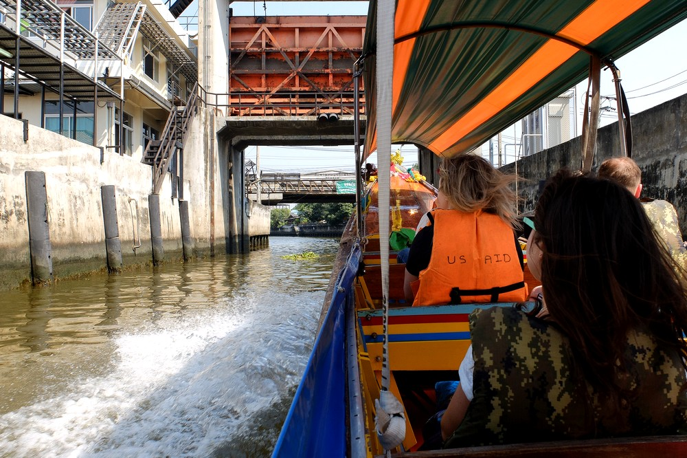 Bangkok canal tour - From Bangkok to Singapore in 2 Weeks
