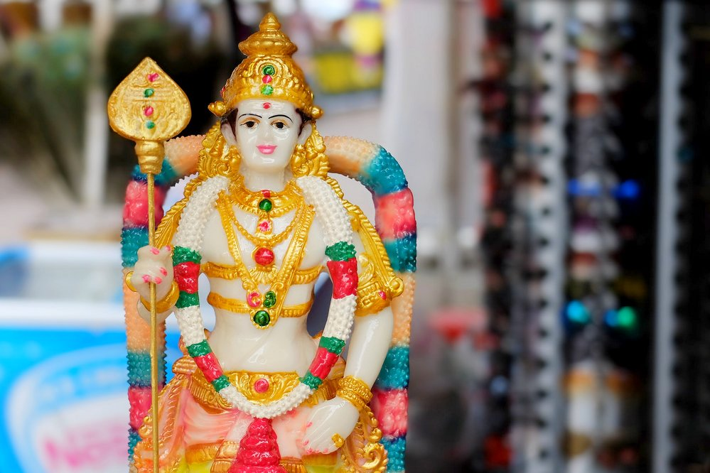 Best Places to Visit in Kuala Lumpur, hindu deity