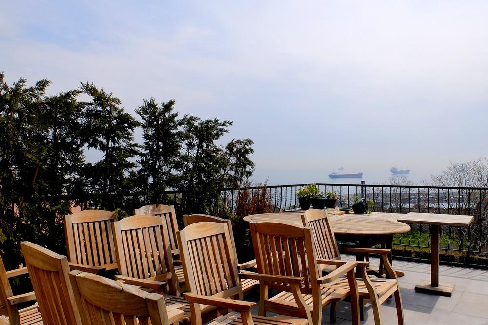 Verandah, Queen Seagull Hotel, Istanbul