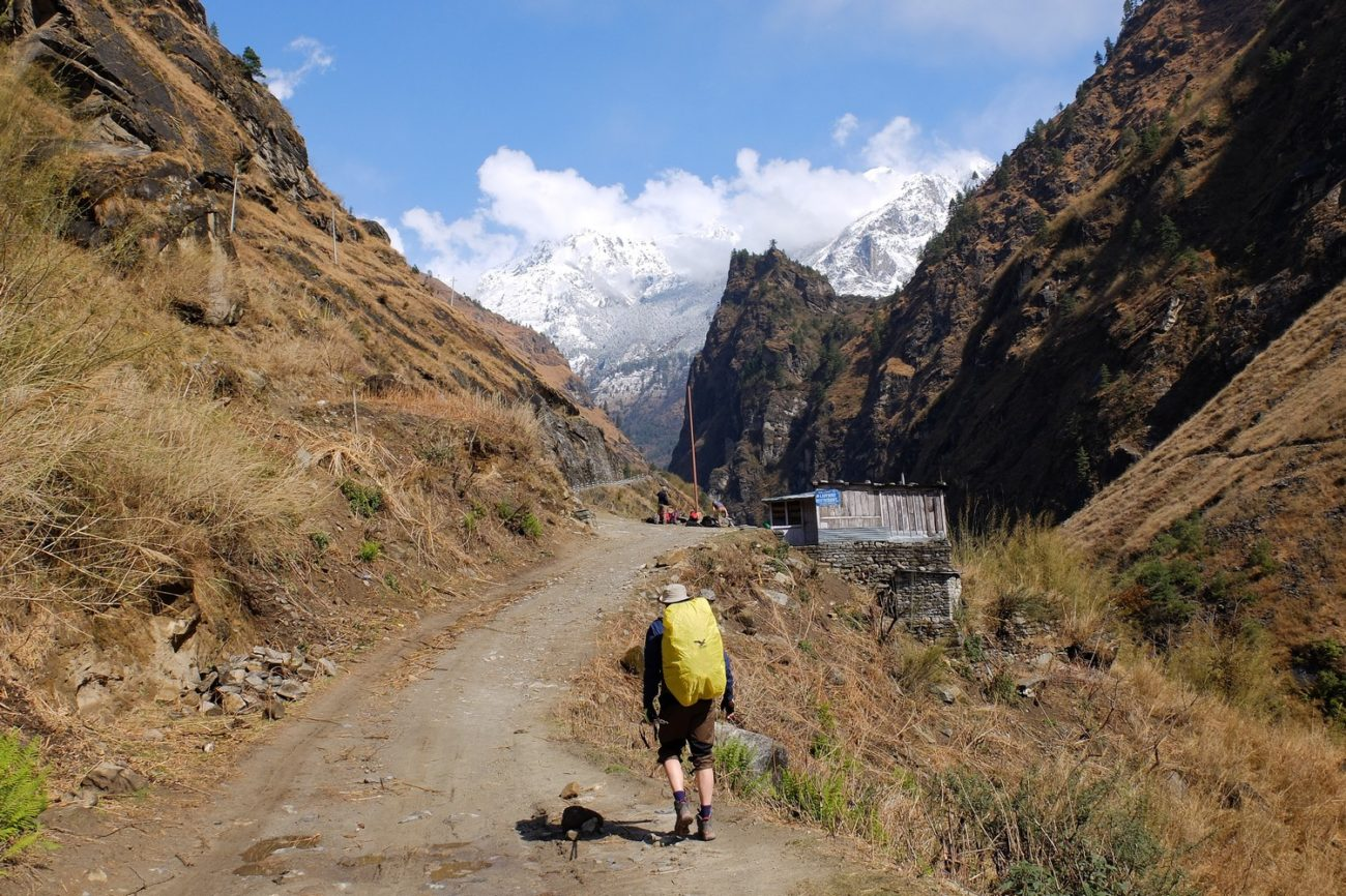 A backpacker in Himalayas, Nepal - Backpacking Packing List