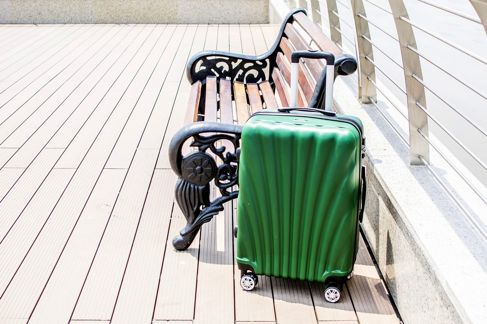 A green suitcase - Best Carry On Suitcase