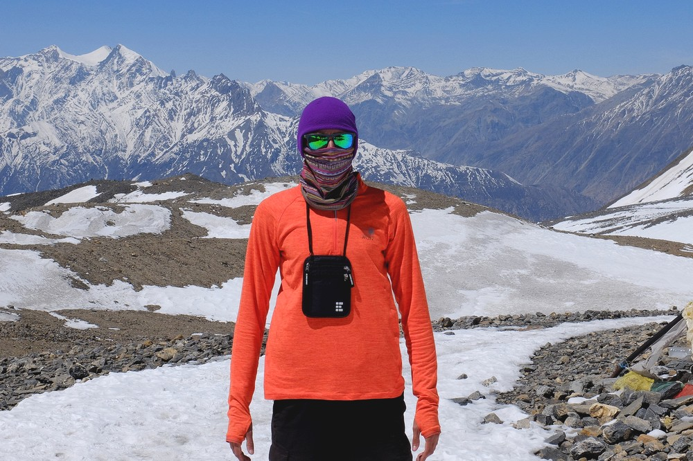 Kaspars in Himalayas - Zero Grid Travel Gear
