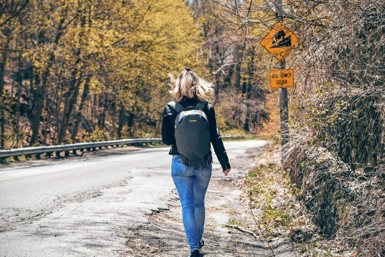 Woman with a backpack - Best Travel Daypacks