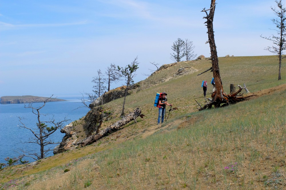 Hiking on Olkhon Island - Best Packing Cubes