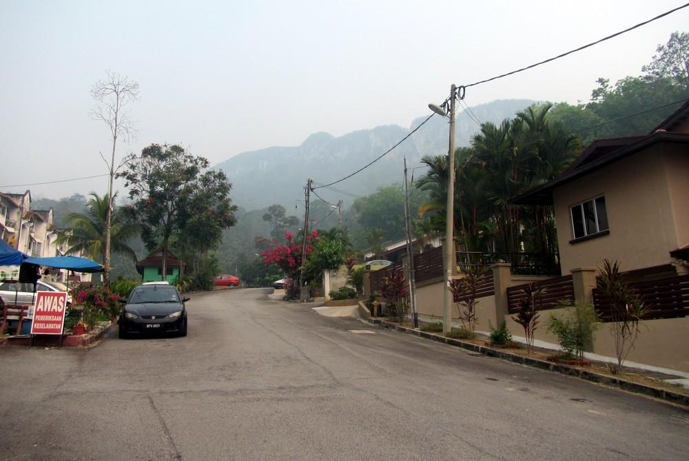 Mountains near Kuala Lumpur