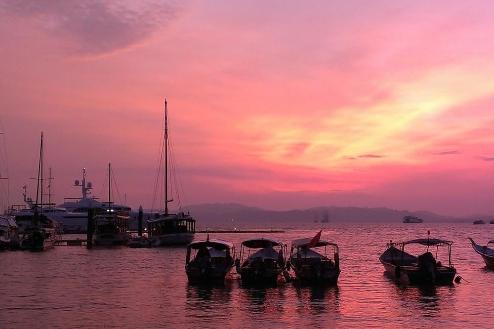 sunset Royal Langkawi Yacht Club