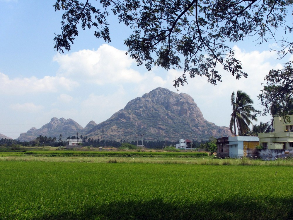 Mountain in Tamil Nadu, India