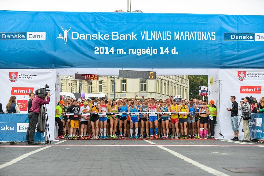 Danske Bank Vilnius marathon start