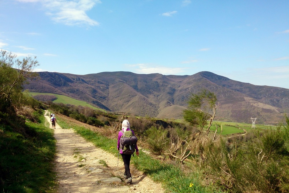 Una walking Camino de Santiago - Spain, 2013