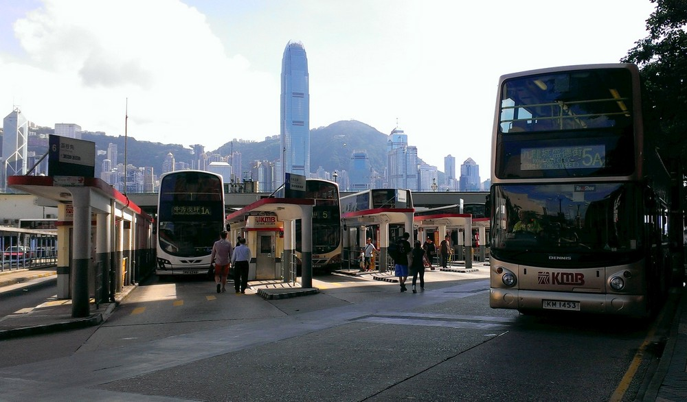 bus in hongkong - Public Transport System in Hong Kong