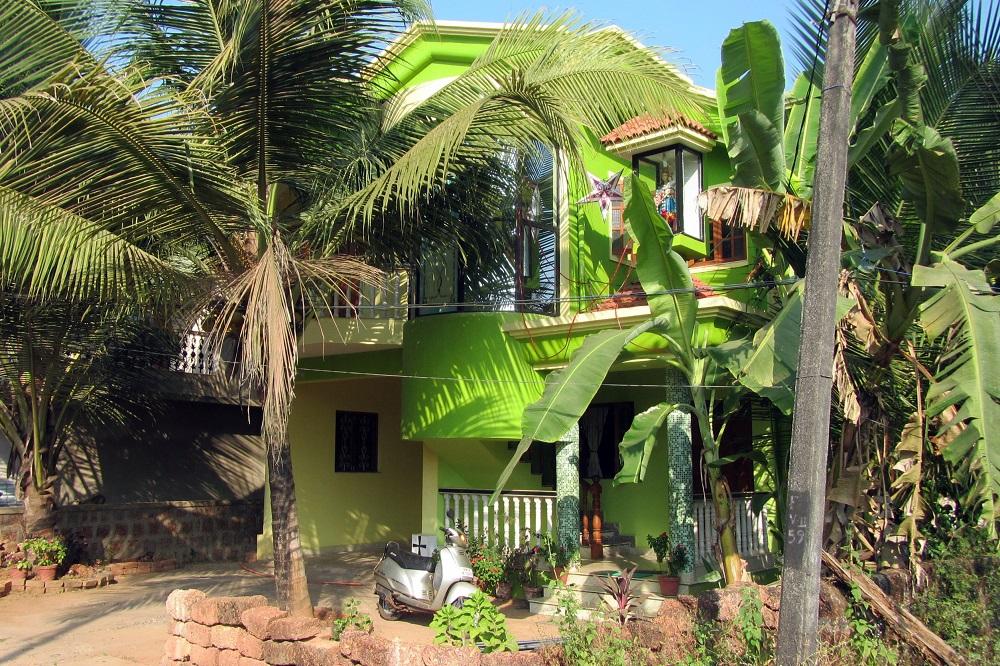 A green house in Goa, India