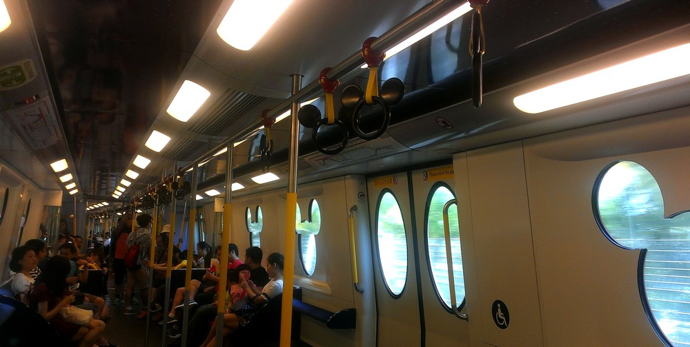Disneyland metro - Public Transport System in Hong Kong