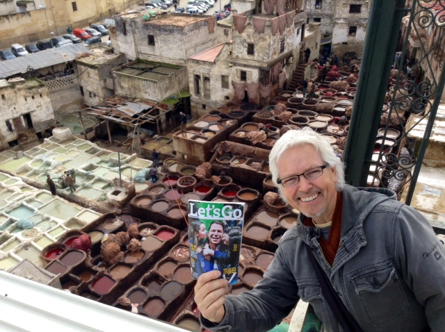 Fes Tanneries in Morocco - Clive - volunteering