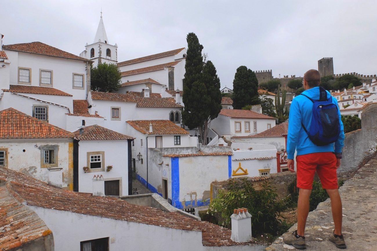 Kaspars in Obidos Portugal - Minimalist Packing List