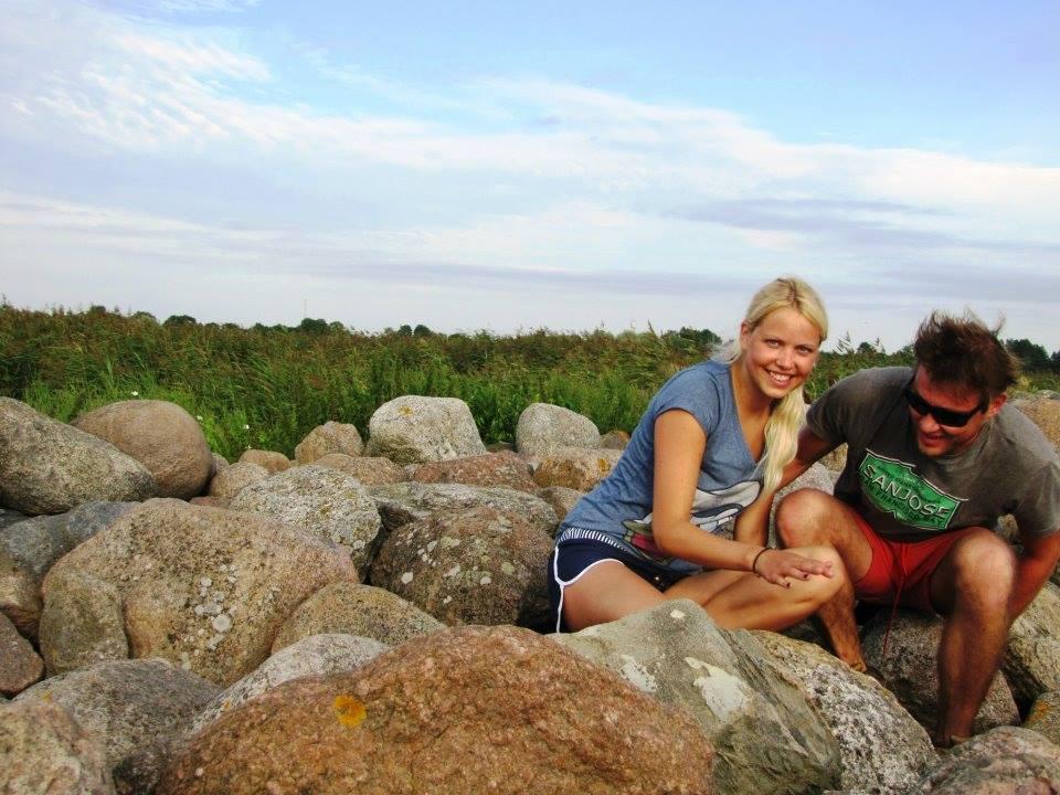 Walking across Europe - Zaiga and Martins