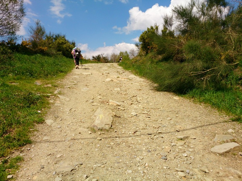 Walking up the hill - Spain