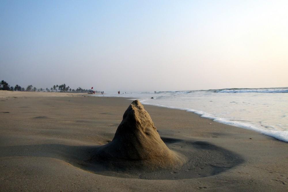 Goa India ocean