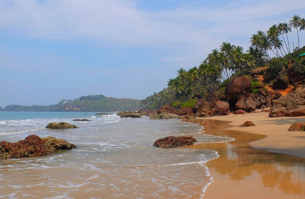 Cabo de Rama beach Goa - right