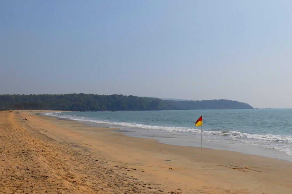 Galgibaga beach in Goa, India - Best Beaches in Goa