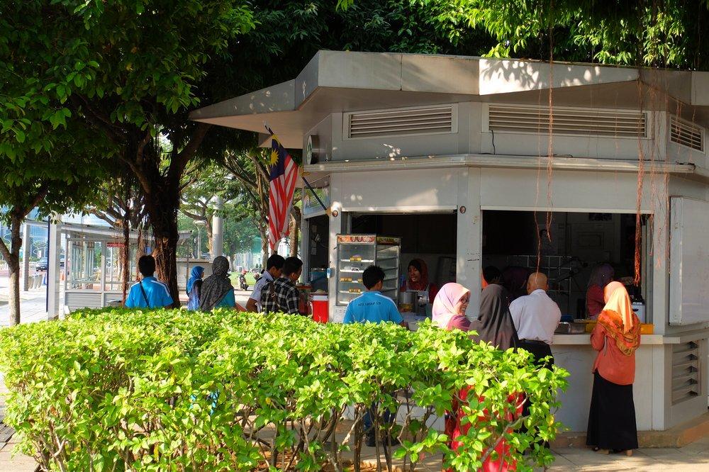 A cafe in Putrajaya, Malaysia