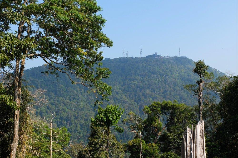 Mountains on Langkawi island