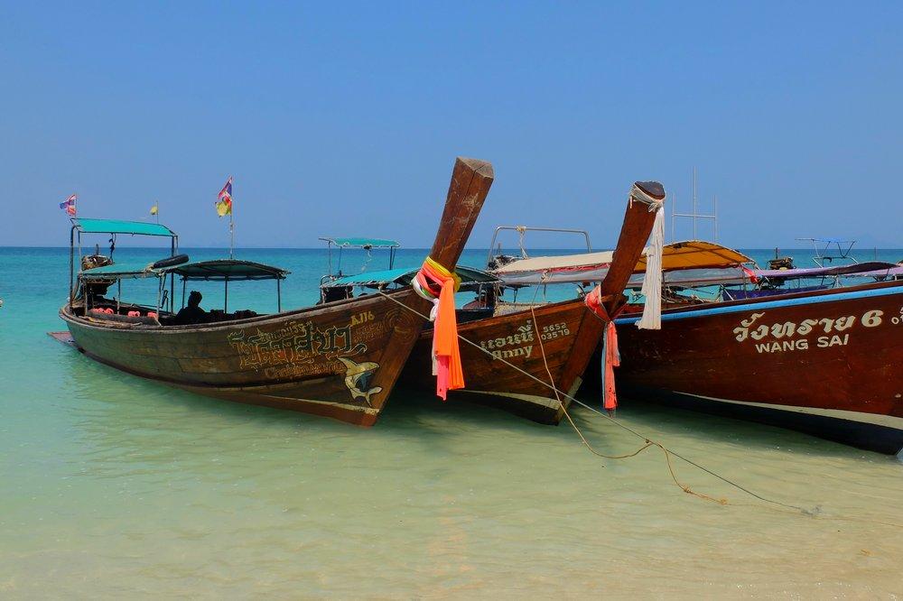 island hopping Krabi Thailand