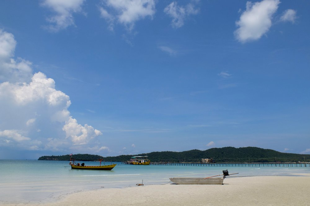 Boats on Koh Rong Samloem