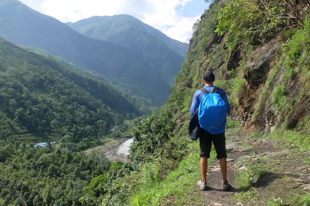 Kaspars trekking Annapurna circuit in June 2016 - Annapurna Circuit Packing List